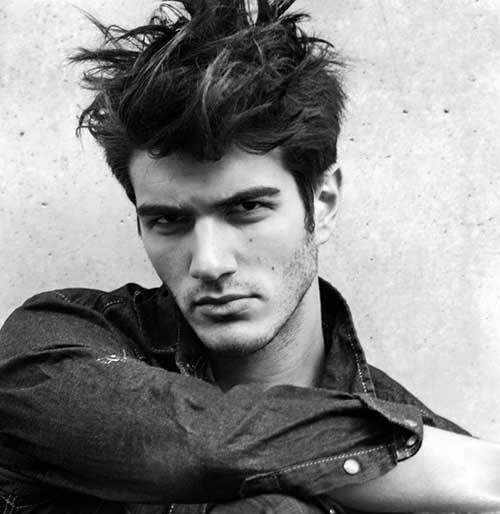 Messy Haircut Ideas For Males