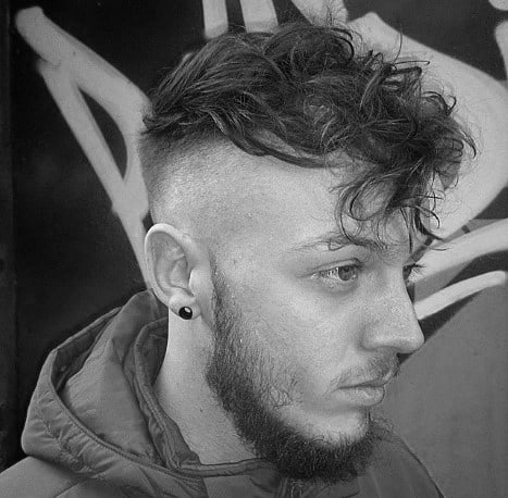 20 Curly Undercut Haircuts For Men Cuts With Coils And Kinks