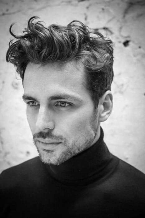 short curly hair for men dapper hairstyles