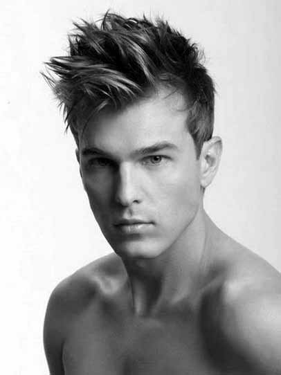 Messy Mens Spiky Modern Hairstyles