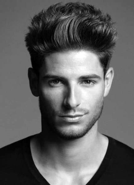 Messy Modern Mens Hair Styles