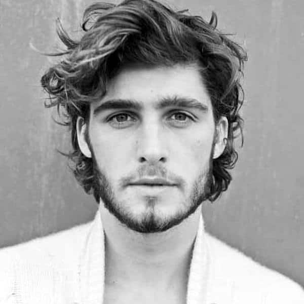 Messy Short To Medium Length Guys Surfer Haircut