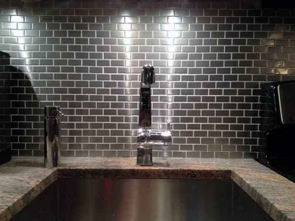 Metal Backsplash Design Ideas