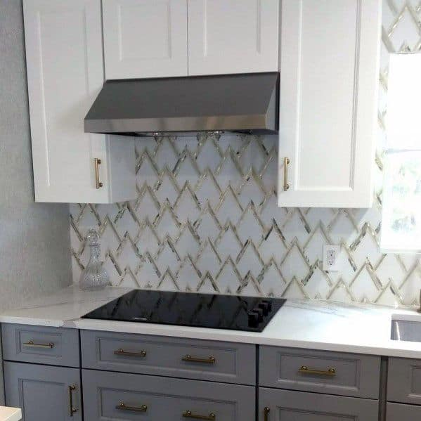 Metal Backsplash Design Inspiration