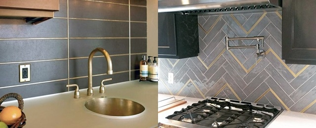 Peachy Top 50 Best Metal Backsplash Ideas Kitchen Interior Designs Download Free Architecture Designs Embacsunscenecom