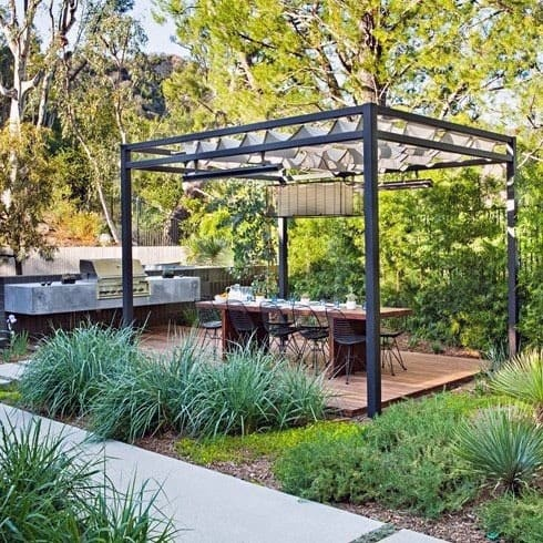 Metal Backyard Ideas For Pavilions