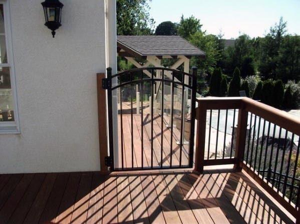 Metal Deck Gate Design Ideas