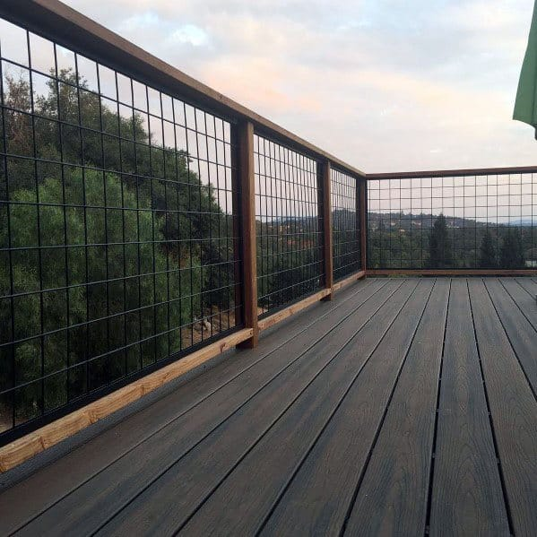Metal Deck Railing Design Idea Inspiration