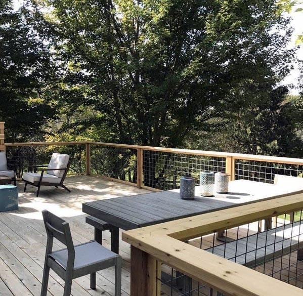 Metal Deck Railing Design Inspiration