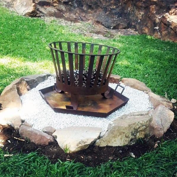 Metal Fire Pit Backyard Ideas