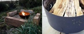 Top 60 Best Metal Fire Pit Ideas – Steel Backyard Designs