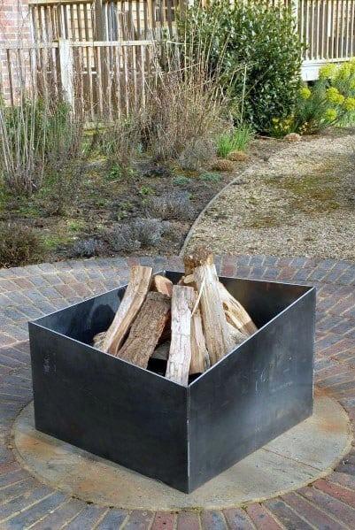 Metal Fire Pits Backyard Ideas