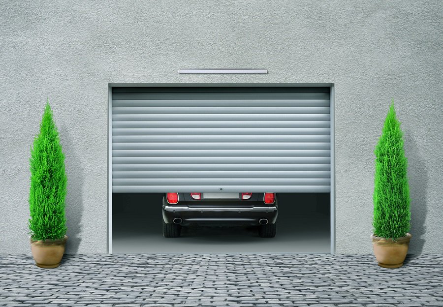 Luxury Garage Door Wood With Double Top Windows