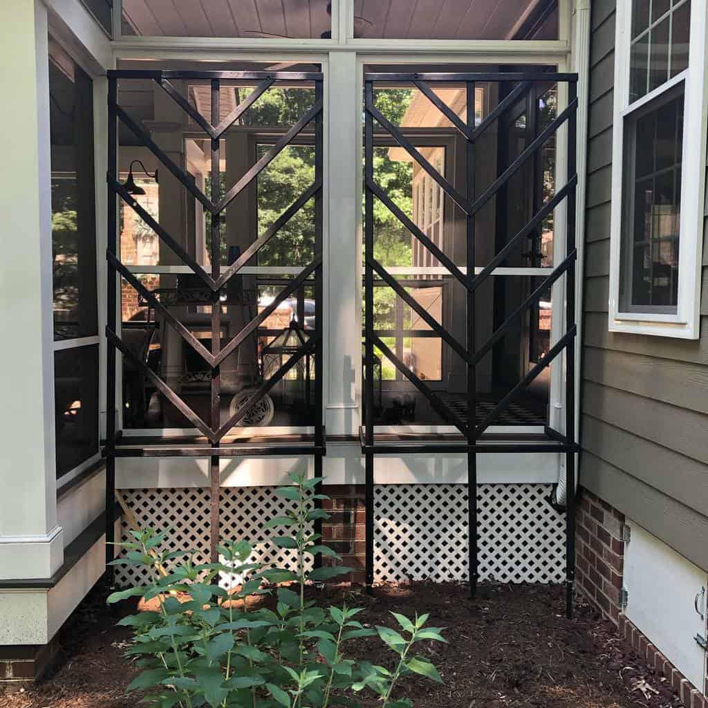 metal garden trellis ideas irongateinteriorsllc