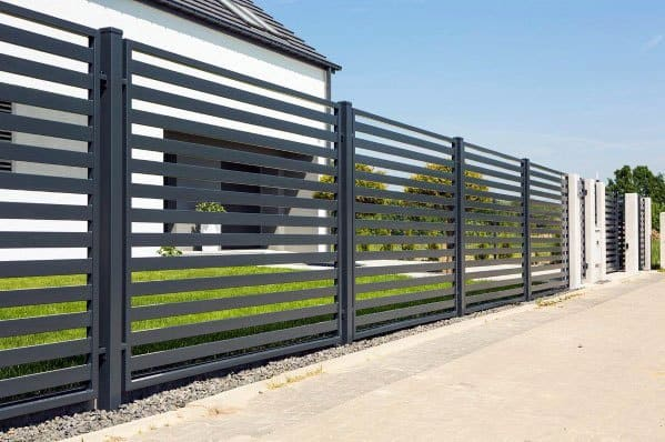 10 Modern Fence Ideas For Your Backyard: Top 60 Best Modern Fence Ideas