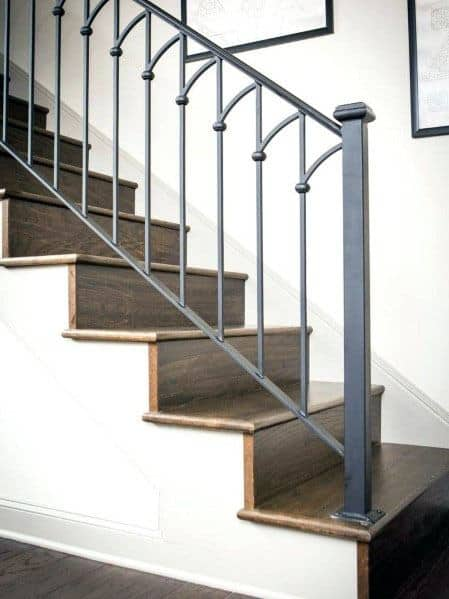 Metal Ideas For Home Stair Railing