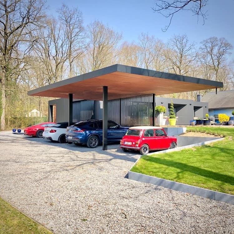 Metal Modern Carport Ideas Gregoire.archi