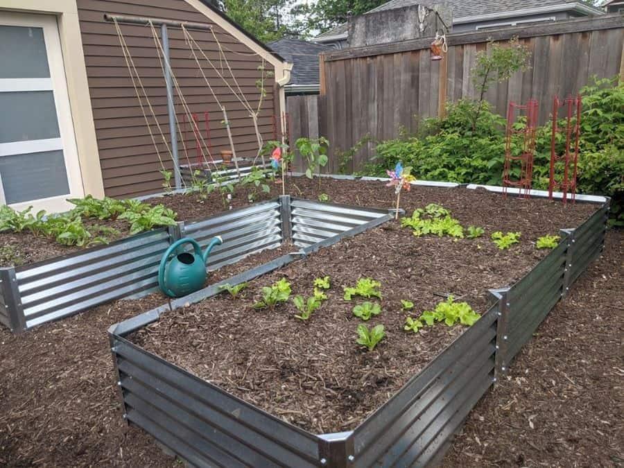 metal raised bed raised garden bed ideas metalgardenbeds