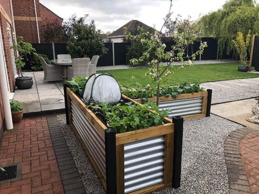 metal raised bed raised garden bed ideas no6homerenojournal