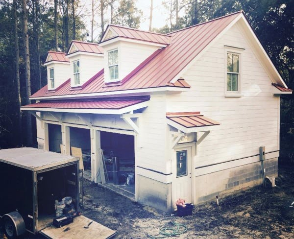 Metal Roof Detached Garage Ideas