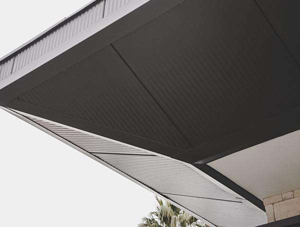 Metal Roofing Detail Soffit New American Remodel 2019