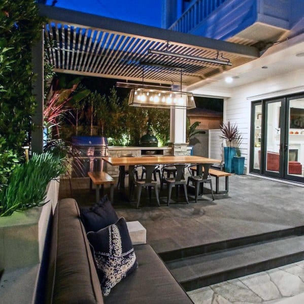 Metal Slat Deck Roof Home Designs