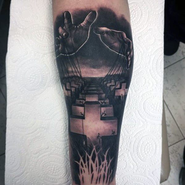 Metallica Mens Tattoo Designs