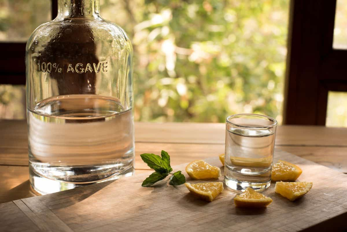 Mezcal,Is,A,Distilled,Alcoholic,Beverage,Made,From,Any,Type