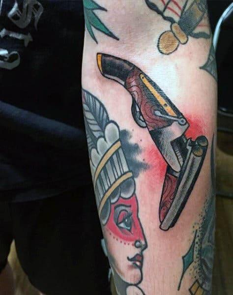 Shotgun Tattoos For Men