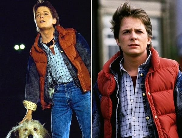 Michael J Fox Back To The Future Best Simple Mens Halloween Costumes