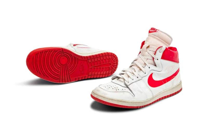 Michael Jordan's Game-Worn Nike Air Ships Set To Fetch Over $1 Million