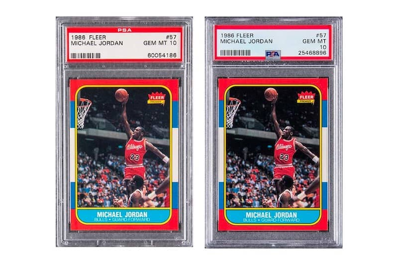 Two Michael Jordan Rookie Cards Fetch $738K Each at Auction