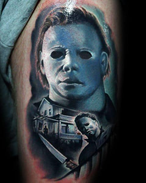 Michael Myers Tattoo Design Ideas For Men