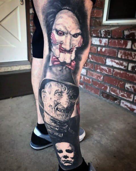 Michael Myers Tattoo Designs For Gentlemen