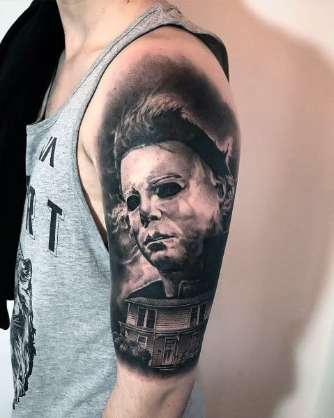 Michael Myers Tattoo Designs For Men