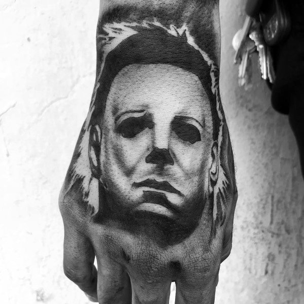 Michael Myers Tattoo For Guys