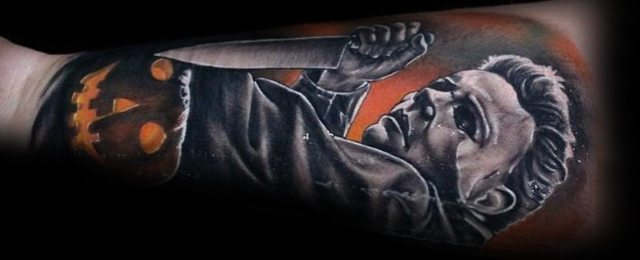 60 Michael Myers Tattoo Ideas For Men – Halloween Slasher Designs