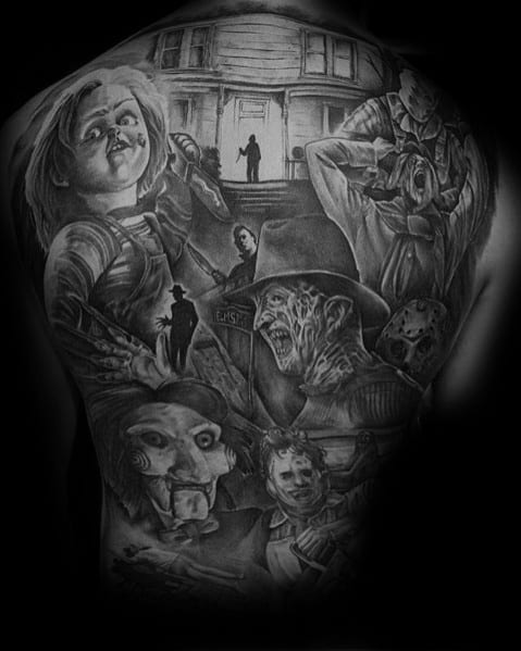 Michael Myers Tattoo Inspiration For Men