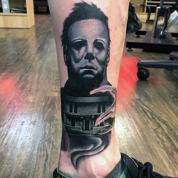 Michael Myers Themed Tattoo Ideas For Men