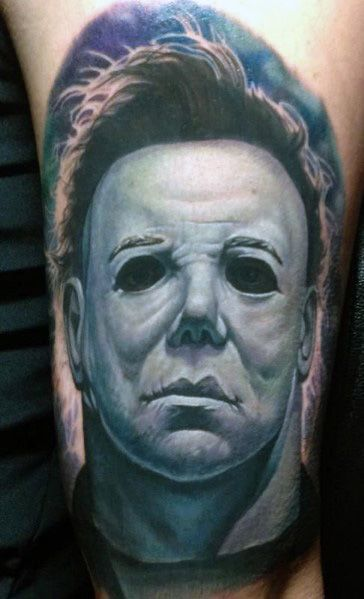 Michael Myers Themed Tattoo Ideas