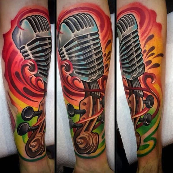 images 30 Engineering Tattoo Designs For Men – Mechanical Ink Ideas
