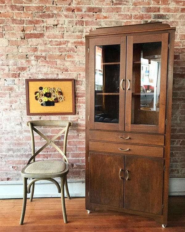Mid Century Hutch Corner Cupboards Curio Cabinets Bullyforyoucolfax