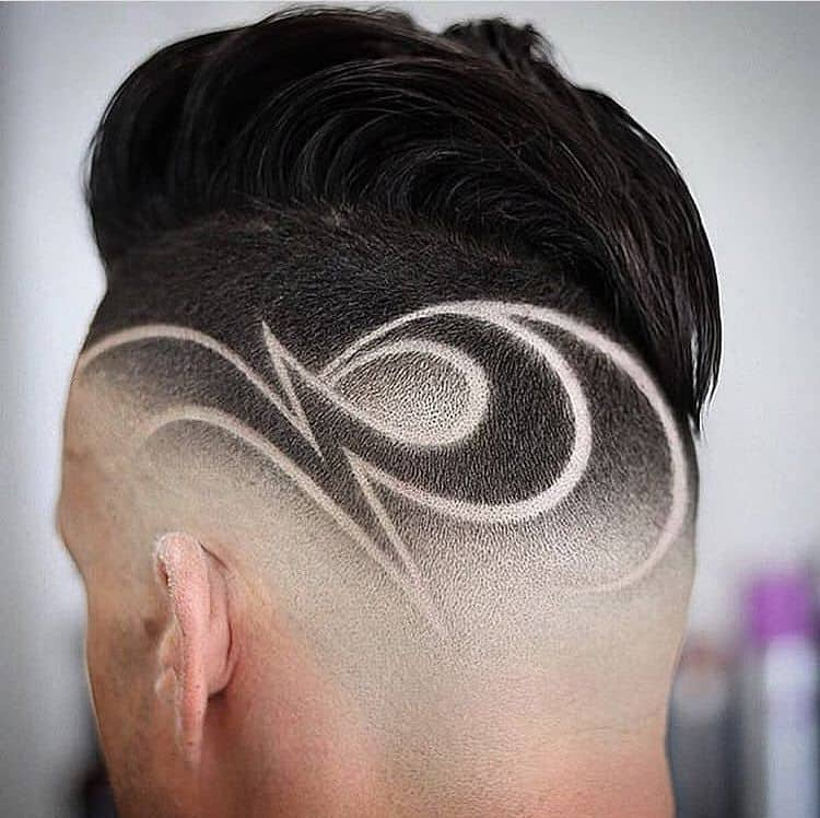 Mid Fade With Design