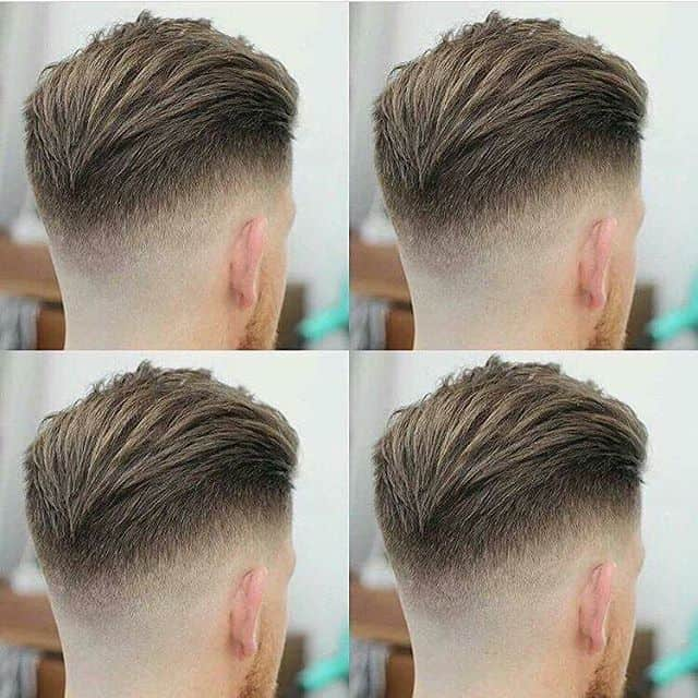 Mid Fade With Slack Back