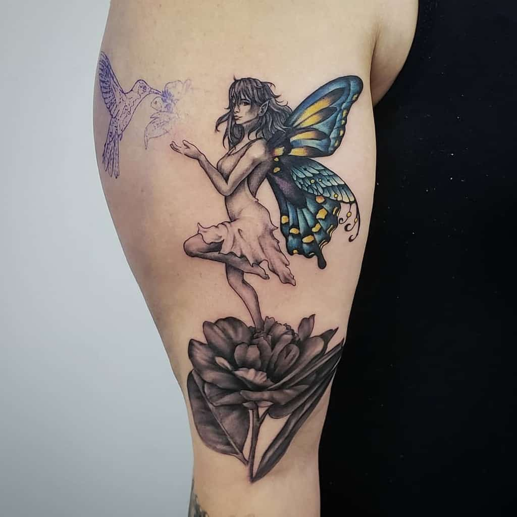 Top 101 Best Fairy Tattoos 2020 Inspiration Guide