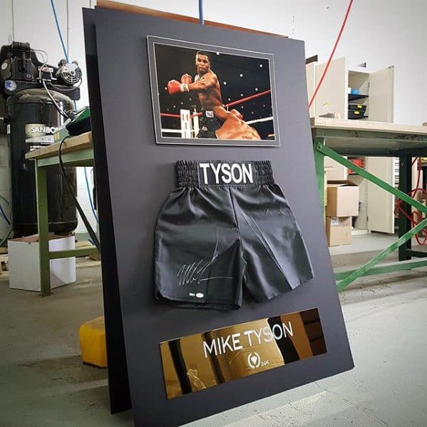 Mike Tyson Sports Wall Art Diy Man Cave Ideas