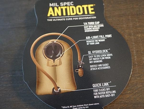 Mil Spec Antidote Camelbak Tag