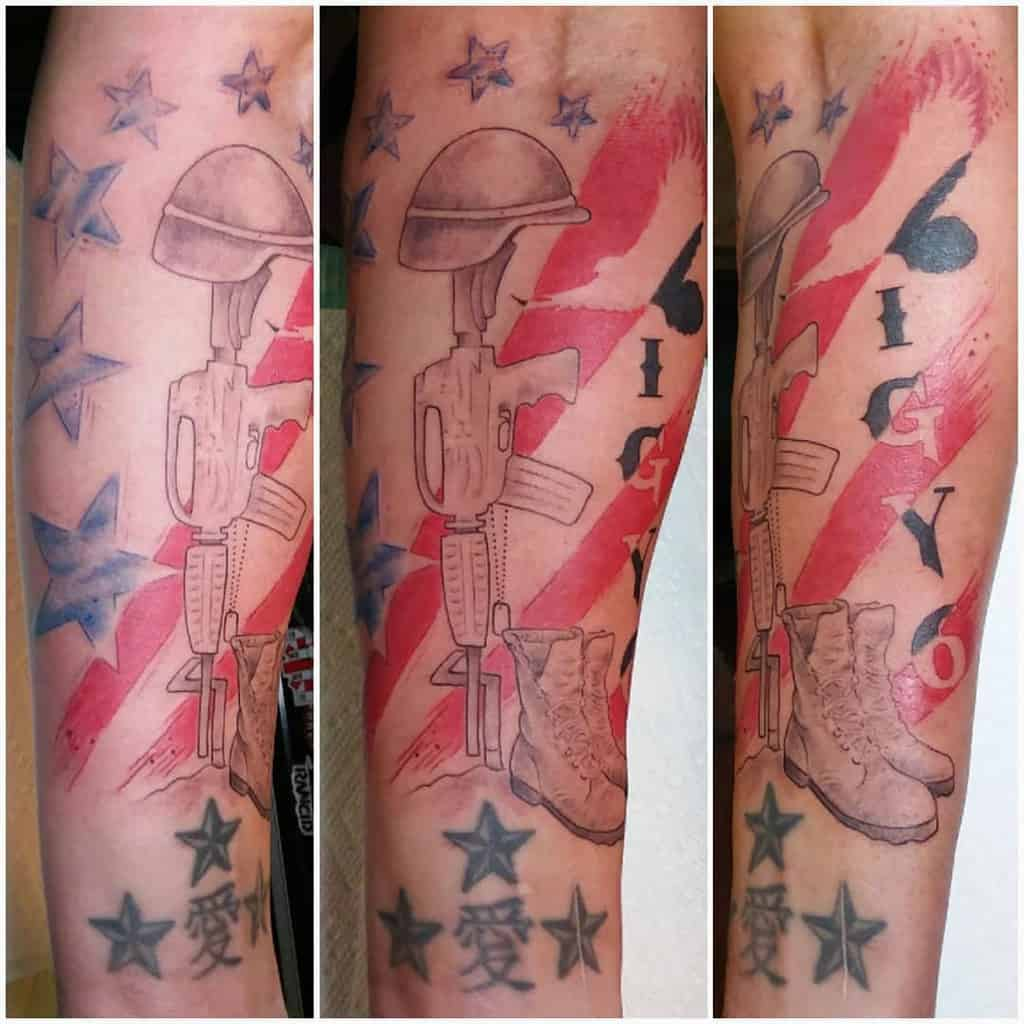 Military Igy6 Tattoos Abitatattoo
