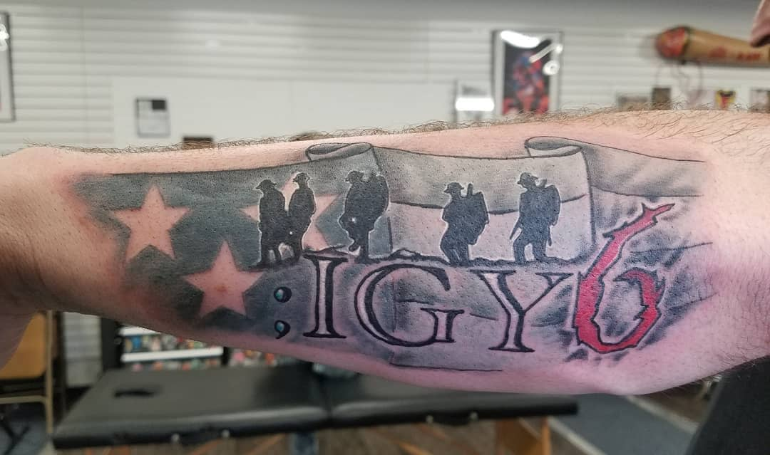 Military Igy6 Tattoos Thescrappman