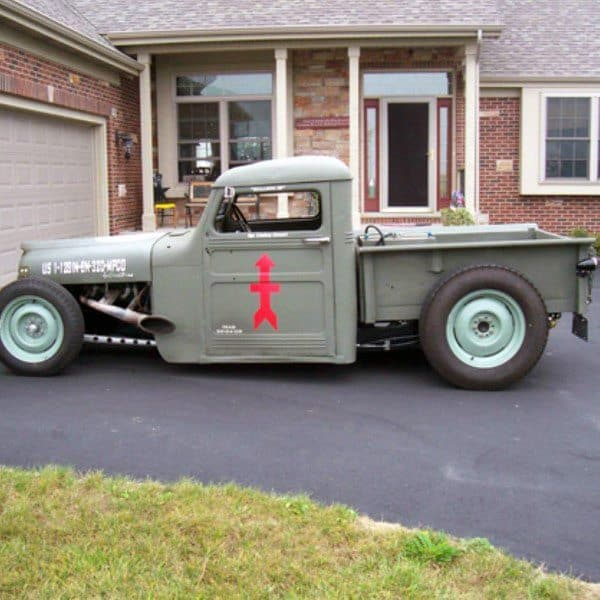 Military Paint Badass Rat Rods